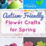Flower power springtime crafts for kids