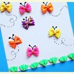 Bow tie pasta crafts for kids