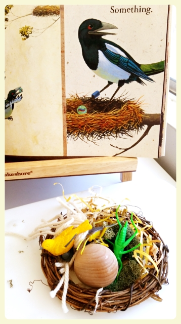 Invitation to build a nest project. Featured by LE CHEMIN ABA, learning house for children with autism and other special needs, in Paris, France.