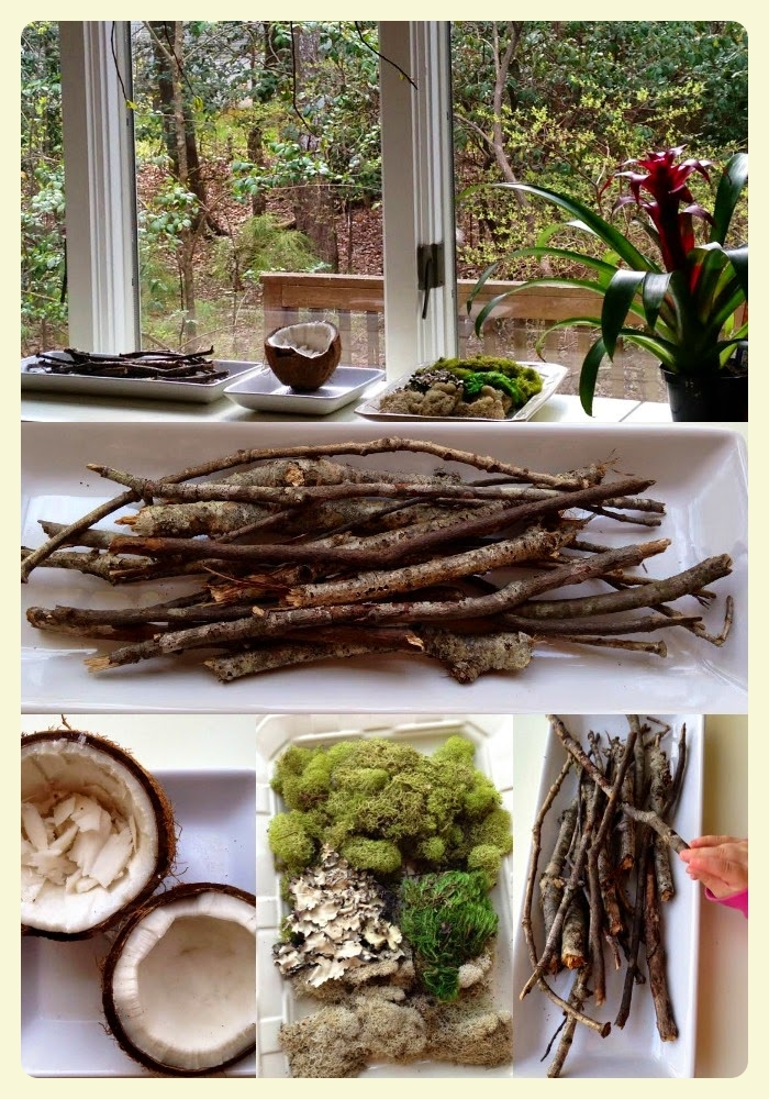Reggio Emilia inspired Spring nature table - Natural Beach Living