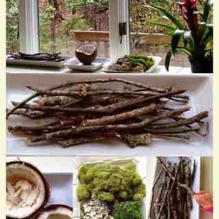 Reggio Emilia inspired Spring nature table – Natural Beach Living