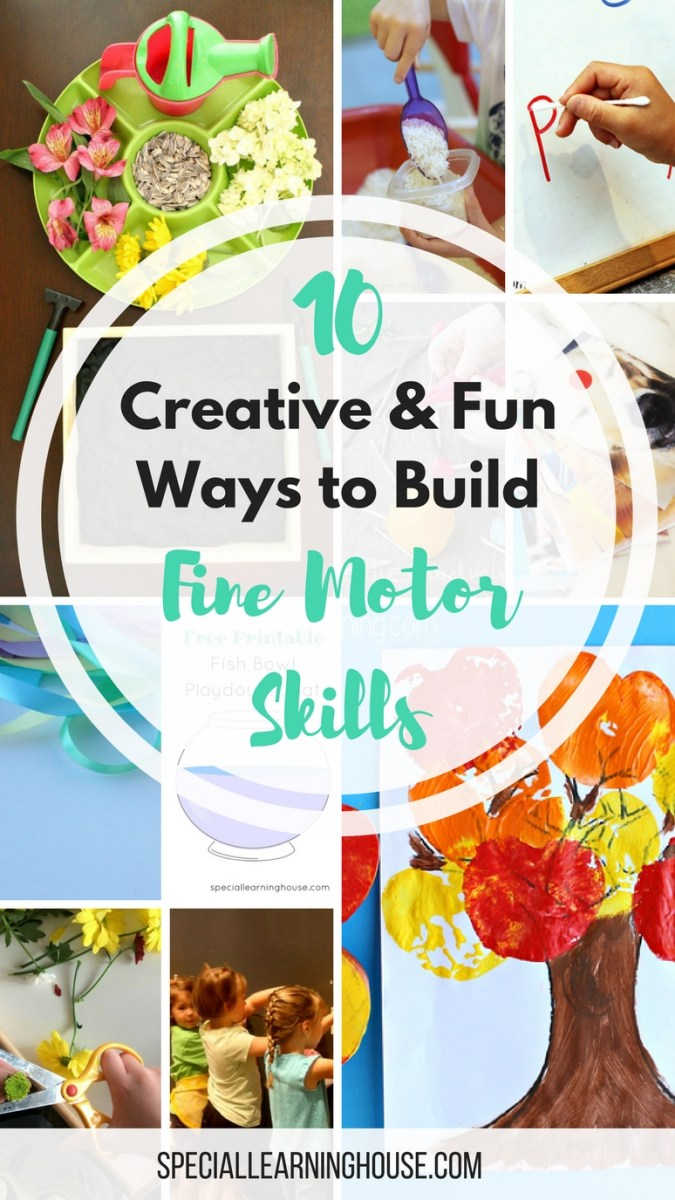 10 Creative & fun ways to build your child's fine motor skills