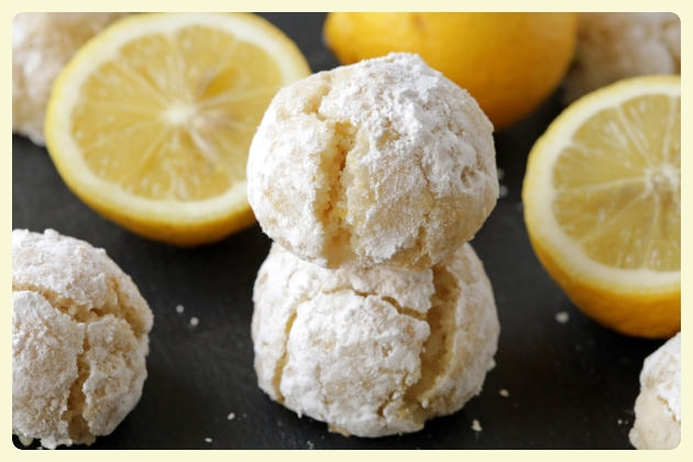 Gluten-free lemon crinkle cookies. Featured by Special Learning House. www.speciallearninghouse.com.jpg