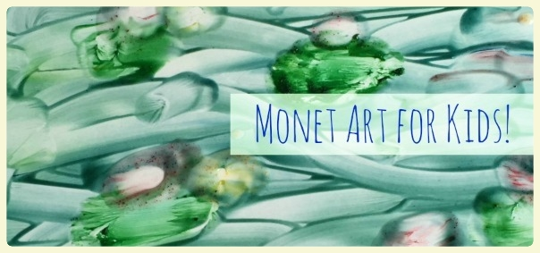 Monet art for kids! Monet-inspired art projects & Giverny. Featured by Special Learning House. www.speciallearninghouse.com