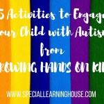 5 Activities to engage your child with autism