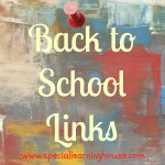 Back to school links