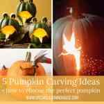 5 Pumpkin carving ideas + how to choose the perfect pumpkin