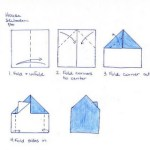 Easy origami for building fine motor skills. Featured by Special Learning House. www.speciallearninghouse.com.