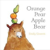 Orange Pear Apple Bear. Best Board Books for Kids with Autism. | speciallearninghouse.com