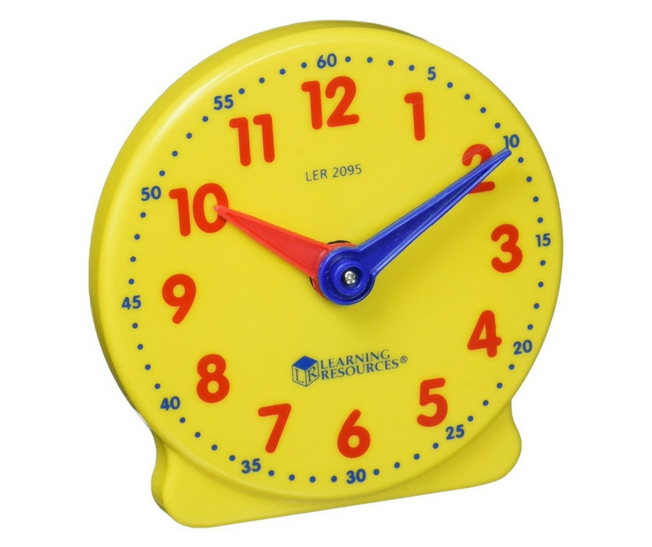 Autism Gift Guide. Learning clock. speciallearninghouse.com