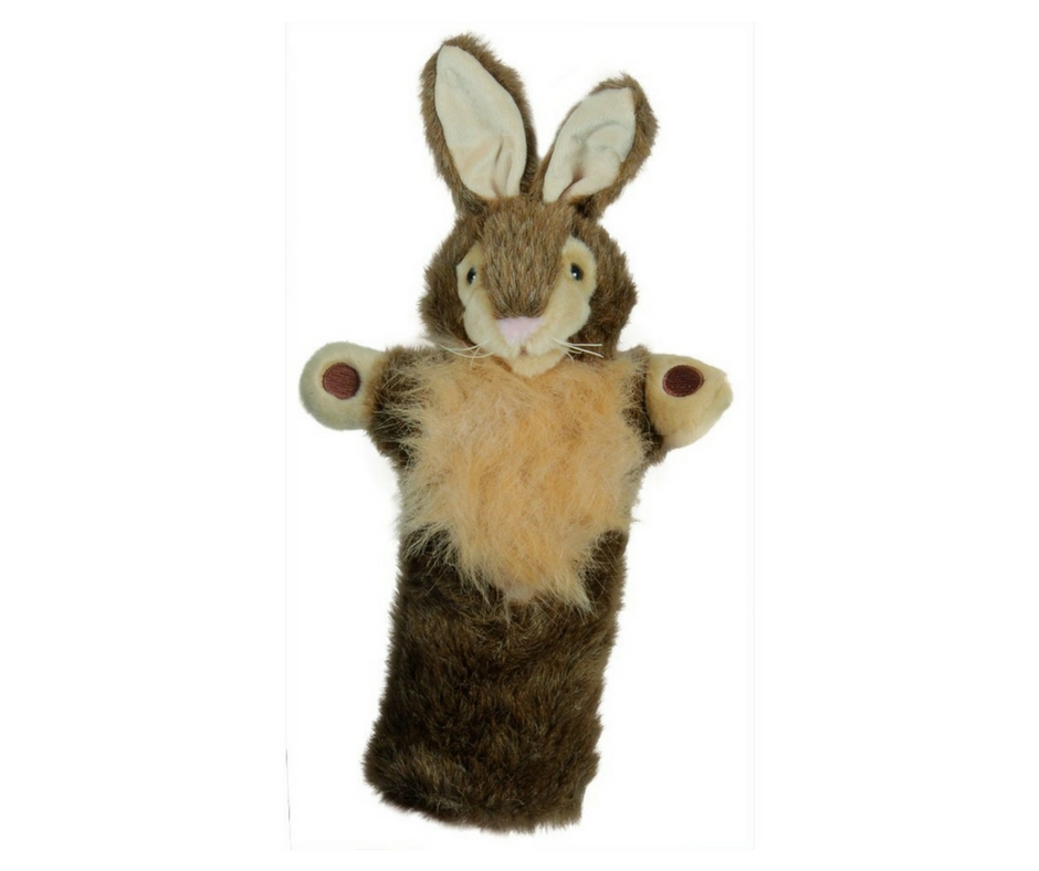 Autism Gift Guide Rabbit Hand Puppet. speciallearninghouse.com
