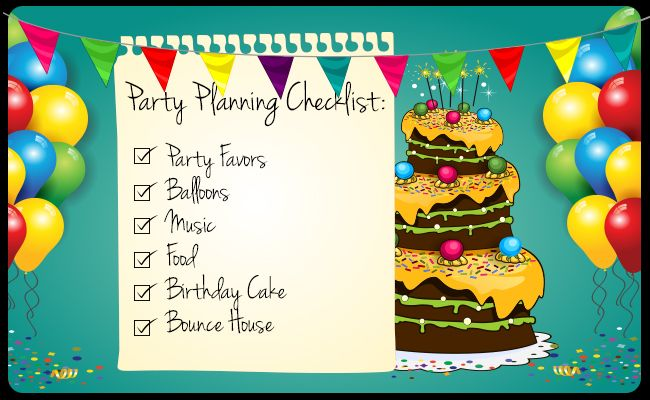 Birthday party Planning- Coping With Unwanted Situations