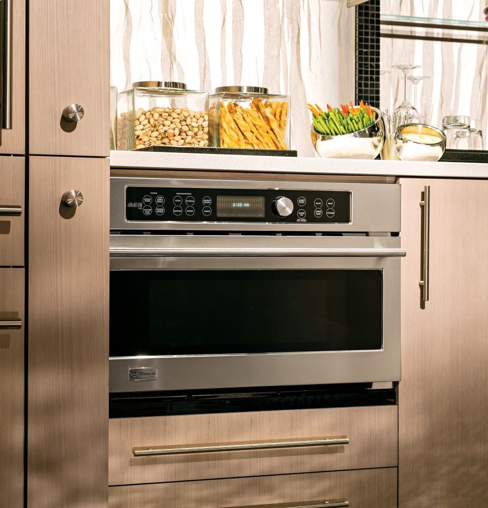 ge monogram microwave built in