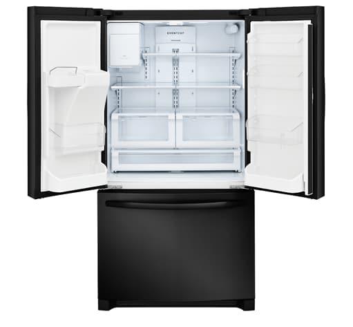 FFHB2750TE Frigidaire 268 Cu Ft French Door Refrigerator EBONY