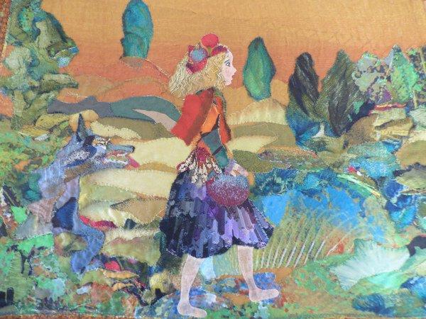 tableaux textiles  \