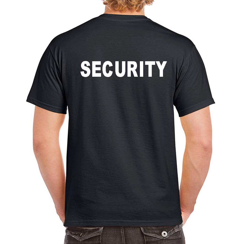 Black t shirt security - Black T Shirt Security Custom Security T Shirt Download