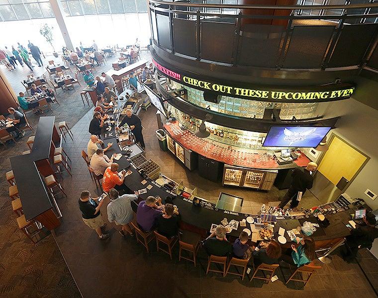 Arena Restaurants Spectrum Center Charlotte