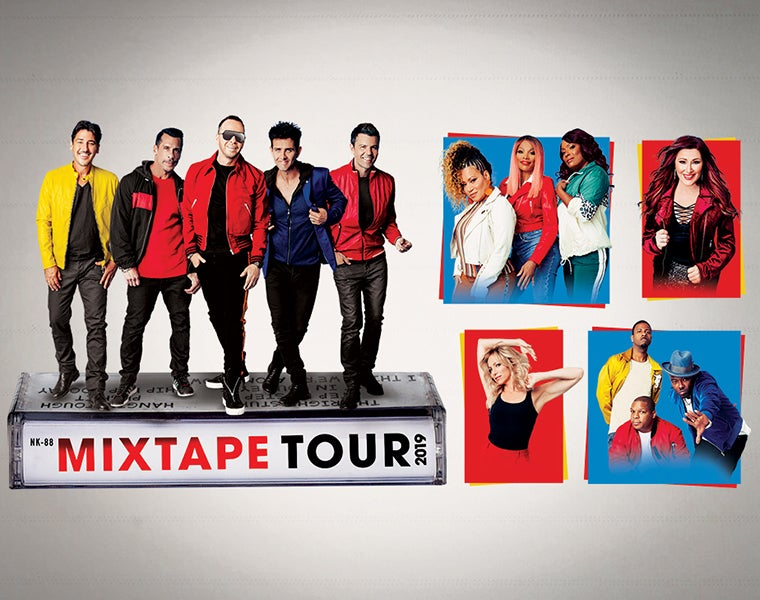 New Kids On The Block The Mixtape Tour Spectrum Center Charlotte