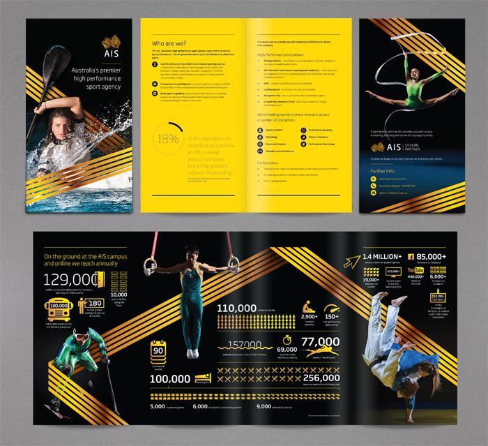 Spectrum Graphics \u2013 Graphic Design Canberra » Australian Institute - sports brochure