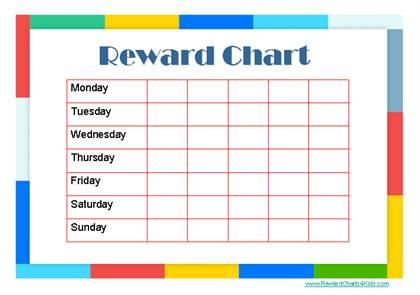 Do Reward Charts Really Work? Behavior Modification and Helping - kids chart