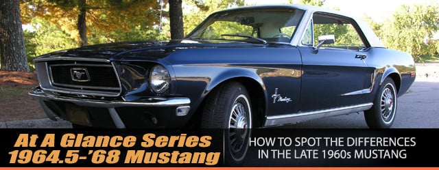 At A Glance How To Spot Differences In \u0027645-\u002768 Mustang