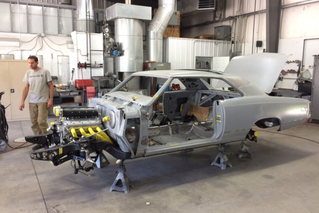 Ridetech Might Be Building The Ultimate \u002767 Chevelle