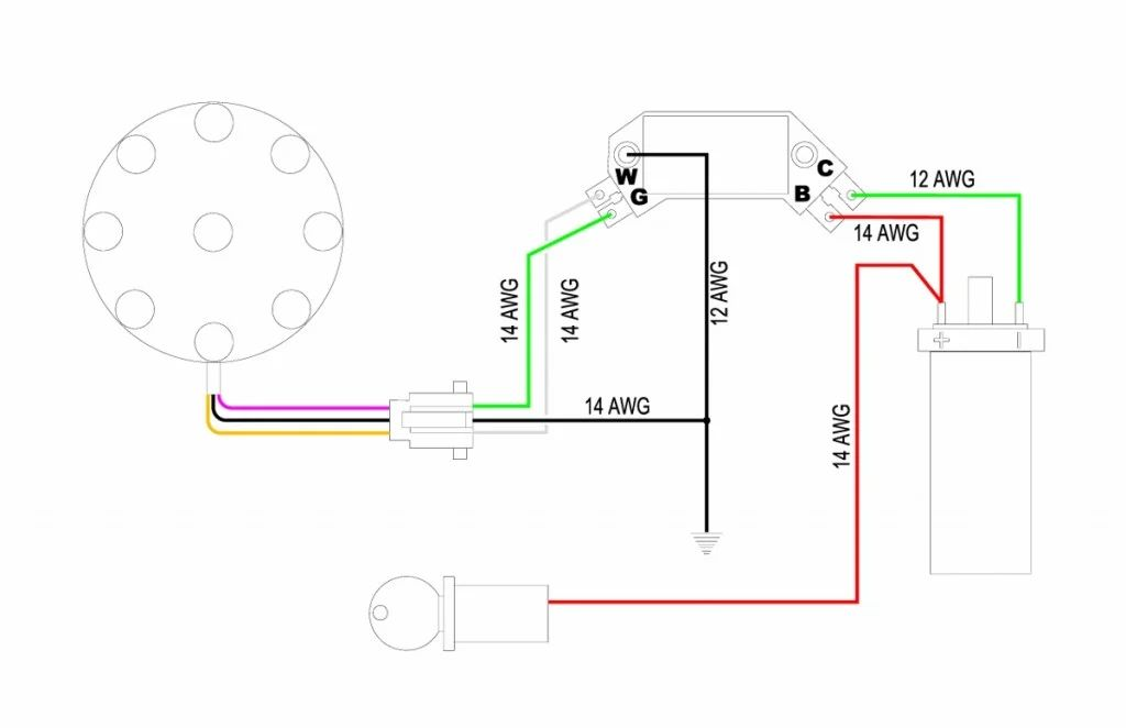 msd digital 6al wiring diagram ford