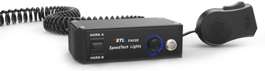 PA 100 Watt Public Address - S-101 SpeedTech Lights