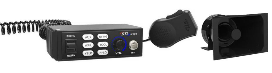 Mega 100 Watt Siren 100-Watt Cone Speaker STL