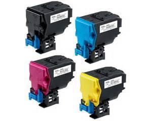 bizhub C35, C35P 4-Pack combo black, cyan, magenta, yellow