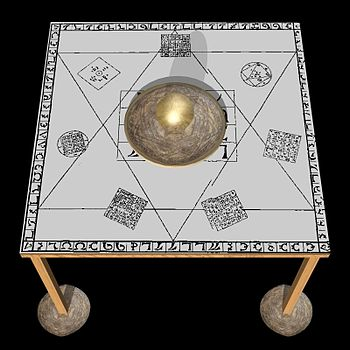 Holy Table as used by John Dee