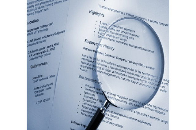 Resume Screening Services Category - Procurement Research Supply