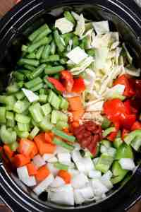 Calories In Bowl Of Vegetable Soup & Slow Cooker Prepped ...