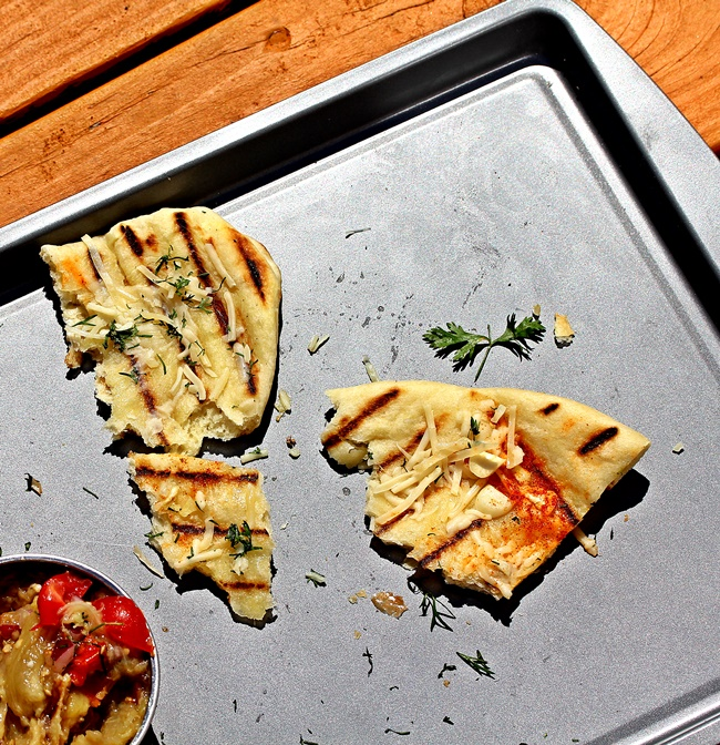 Grilled Naan - Spice Chronicles