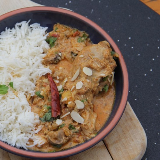 Light, Quick, and Easy Chicken Korma