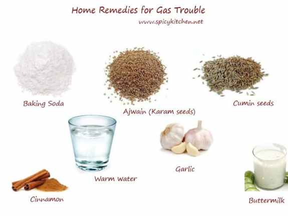 home remedies for gas trouble