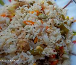 vegetable-pulao