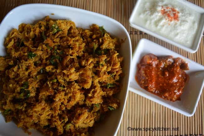 Soya keema with step by step pictures | How to make soya keema