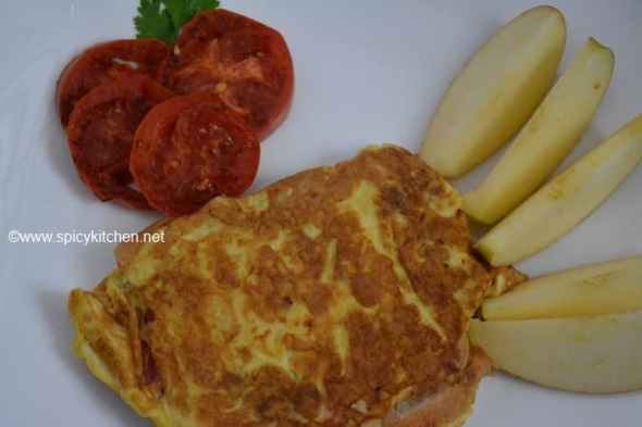 bread omelette recipe