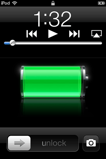 camera lock screen ios5 thumb Take Pictures from the lock screen without Unlocking  the iPhone,iPod in iOS5