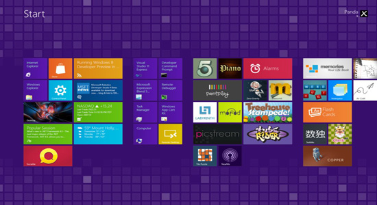 Purple Windows 8 Metro Theme Purple Windows 8 Metro Theme Free Download