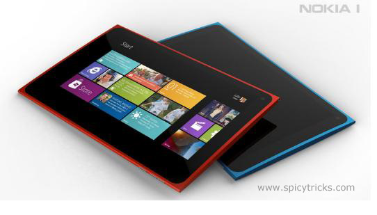 nokia windows 8 tablet image Nokia Design Chief is confirmed  New Nokia Windows 8 Tablet
