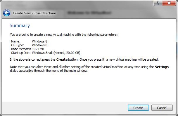 virtualbox final Install Windows 8 beta in Your System using VirtualBox on Windows & Mac