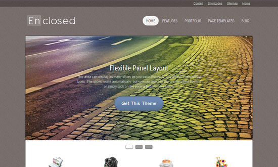 enclosed1 free wordpress theme 2013 10 Best Free WordPress Themes for 2013 March