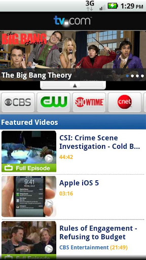 tv.com the best Android app live TV shows Top 5 Best Android Apps for Live TV Shows and Watch Movies free