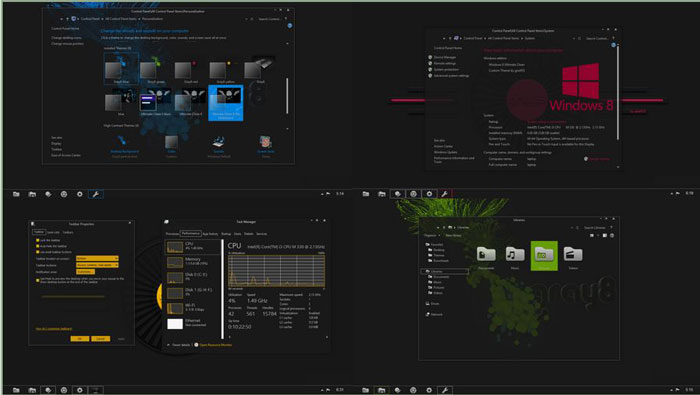 Linux Mint Animated Wallpaper Top 30 Best Windows 8 Themes Visual Styles And Skins