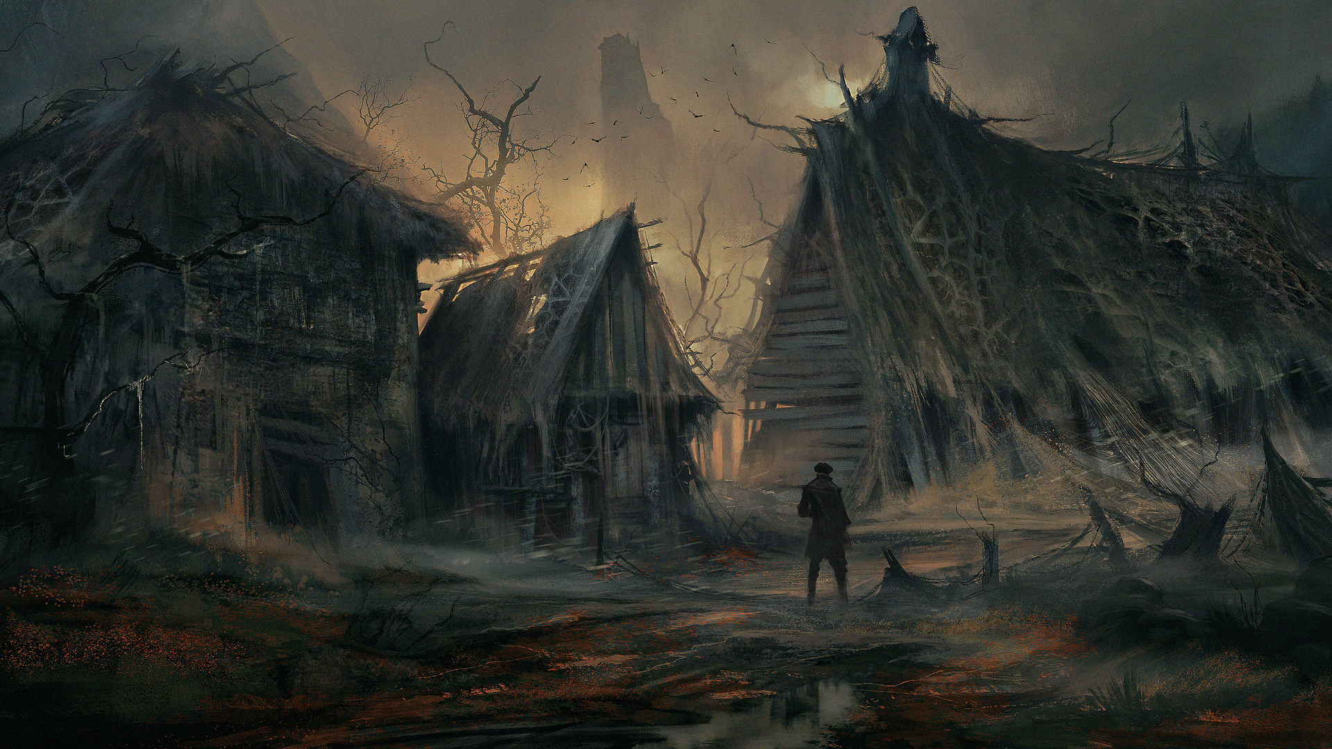 Legends Of The Fall Wallpaper Greedfall Spiders