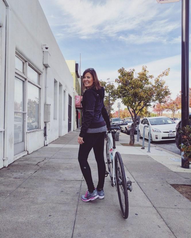 Nancy with Specialized vita bike