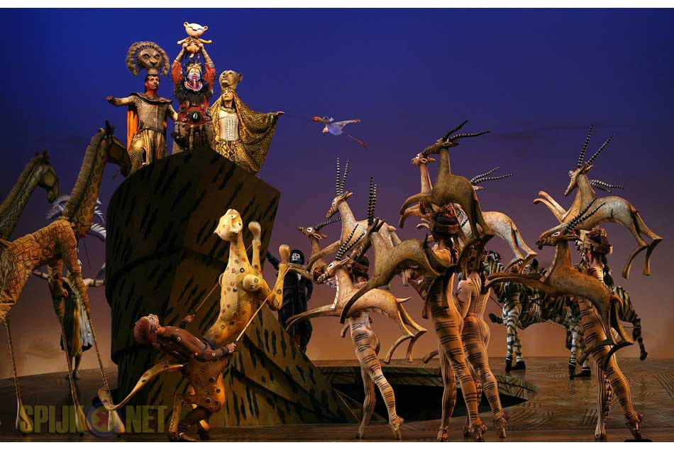 Musical de Lion King 11 december