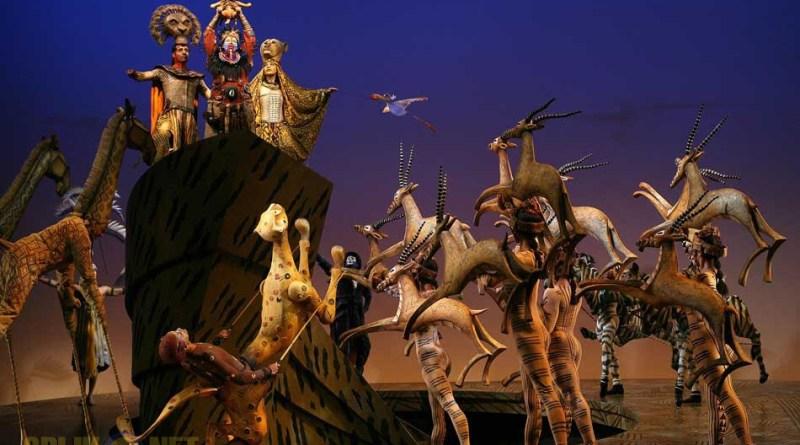 Musical de Lion King 11 december